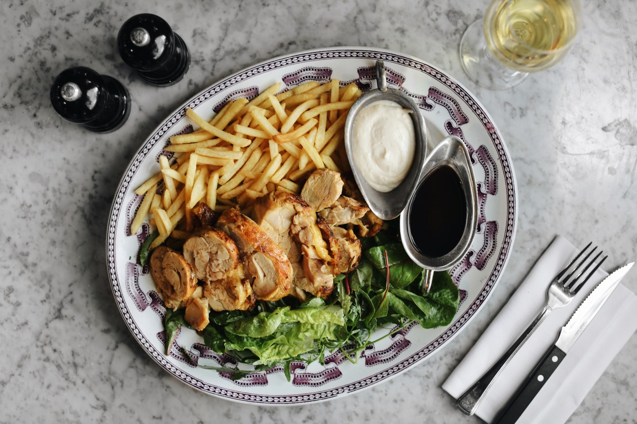 chicken and chips sharing platter